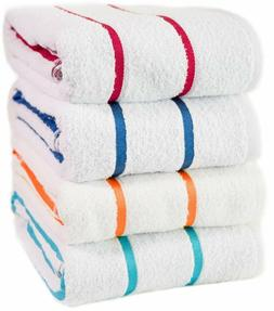 100% USA Cotton Beach-Towels Pool-Towels Family Value Variet