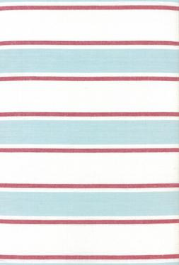 "18"" Rock Pool Seaglass Striped Toweling Tea Towels by Moda"