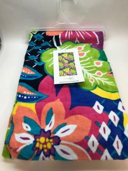 Mainstays Beach Pool Swimming Towel Tropical print NWT 100%