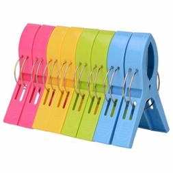 Beach Towel Clips for Chair or Loungers Holders Pool Cruise