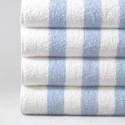 Classic Cabana Stripe Pool Towels, Sold in Pairs with Free S