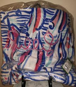 LILLY PULITZER GWP Beach Towel Pool Towel RED RIGHT RETURN 6