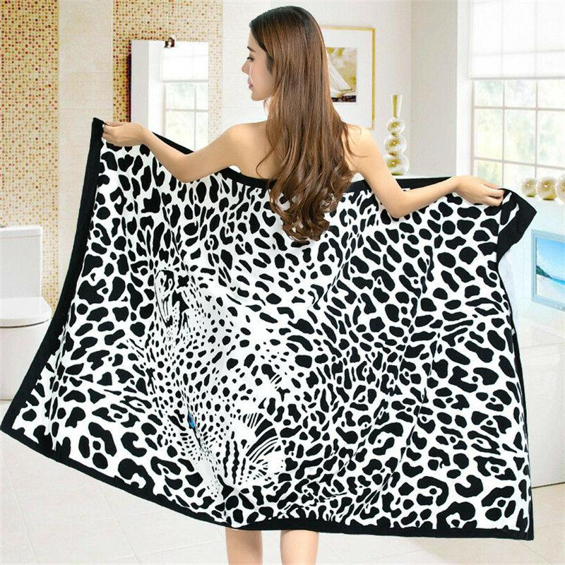 Bath Towel for Adult Bath Swimming Wrap Blanket Quick Dry Po