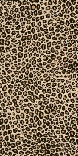 Leopard Animal Pattern Bath Pool Party Beach Velour Towel to