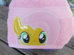 Little PONY Hooded Towel .Great for Bath/ Beach/Pool! Great