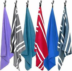 Microfiber Beach Towel - Quick Dry Large XL Towels for Gym,