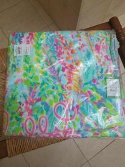 NEW LILLY PULITZER BEACH POOL BATH TOWEL Catch The Wave 29.5
