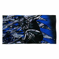 NWT Disney Store Boys Beach Towel Pool Black Panther With Ba