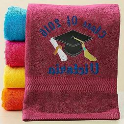 Personalized Graduation Gift Beach/Pool Towel - Free customi