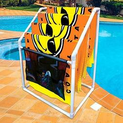 WOW Sports World of Watersports Towel Rack Heavy Duty- Colla